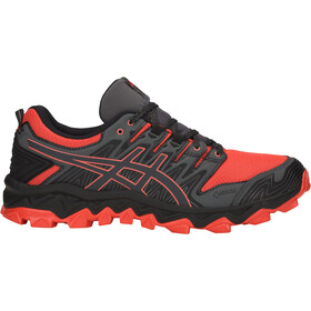 asics Gel-FujiTrabuco 7 G-TX Shoes Men red snapper/dark grey